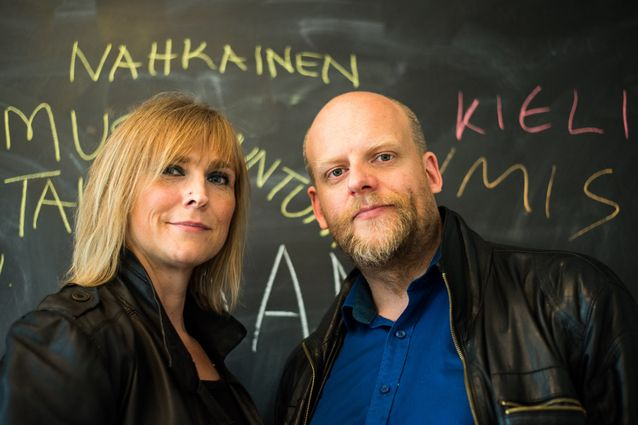Tanja Riikonen ja Janne Saarikivi