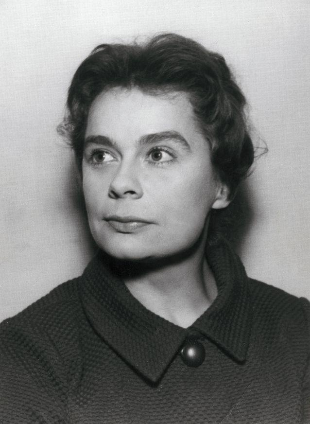 Marja-Liisa Vartio vuonna 1958. Kuva: Otava / Pentti Unho.