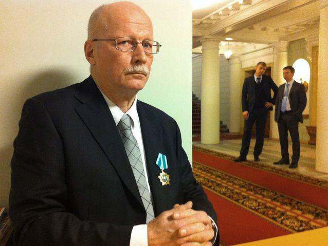 Timo Vihavainen sai Ystävyyden kunniamerkin helmikuussa 2014. Se on Venäjän valtion myöntämä korkea-arvoinen tunnustus.