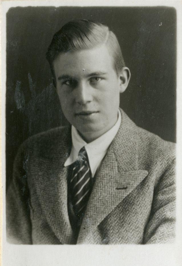 Nuori von Wright. Kuva: von Wright – Wittgenstein -arkisto.