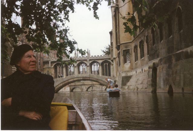 Georg Henrik von Wright palasi myöhemmin elämässään Cam-joelle, jossa sai mullistavan ajatuksensa modaaleista käsityksistä. Kuva: von Wright – Wittgenstein -arkisto.