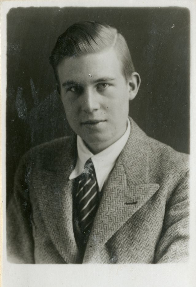 A young Georg Henrik von Wright. Photo: von Wright and Wittgenstein archive.​​