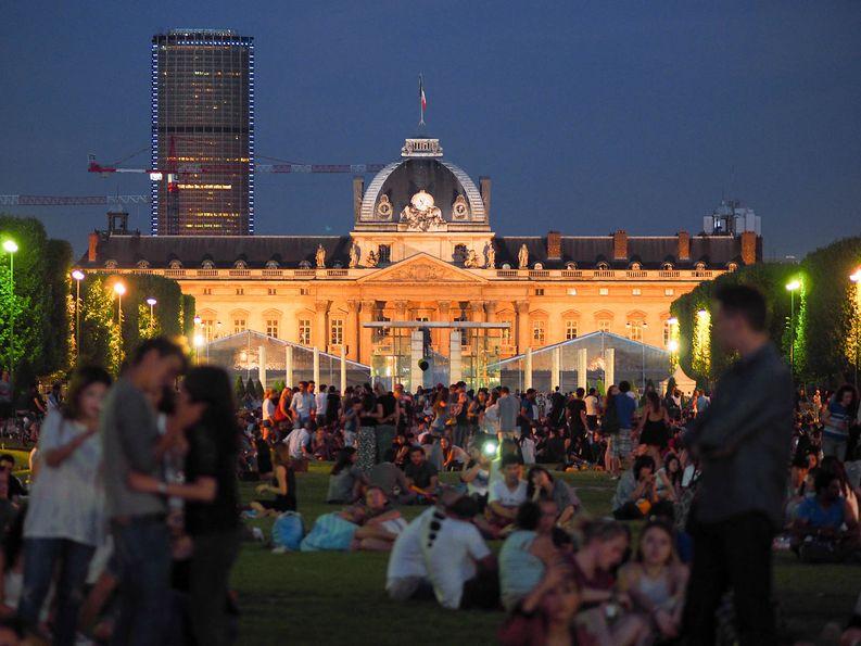 Social life á Paris