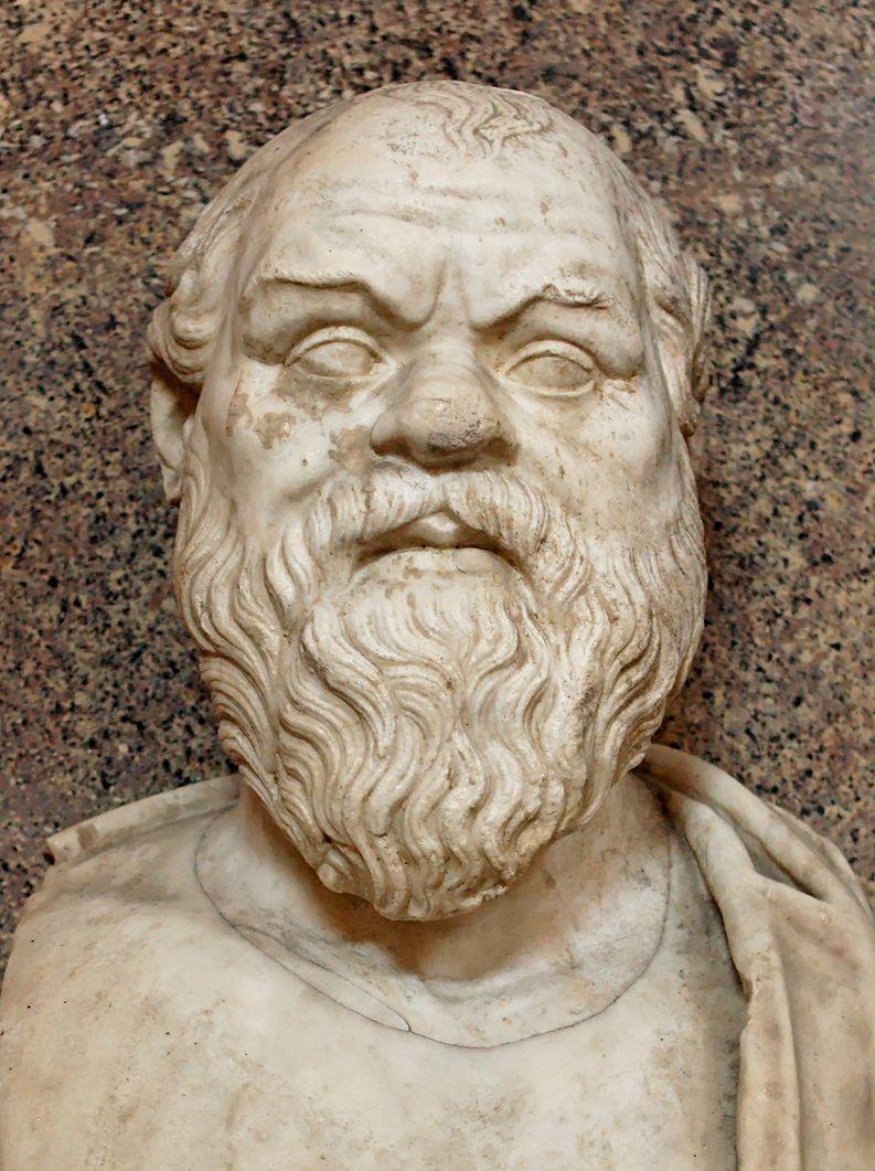 Sokrateen patsas Vatikaanin museossa