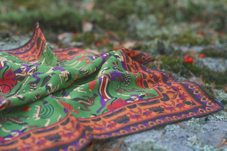 Exquisite Trimmings Egyptian Pocket Square​