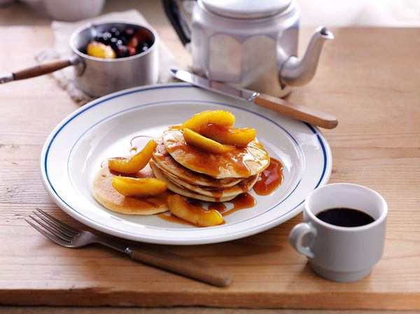 Gluten Free American Pancakes The Happy Foodie