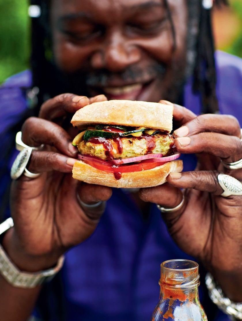 Calypso Chicken Burgers Levi Roots