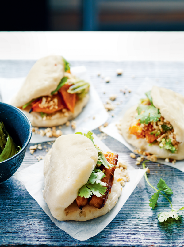 vegetarian bao recipe