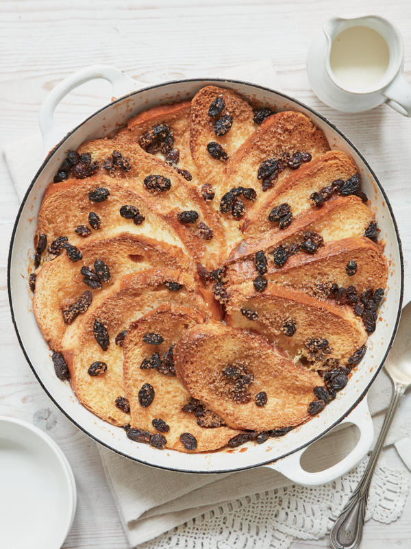 Mary Berry's Brioche Bread and Butter Pudding for Mother's Day