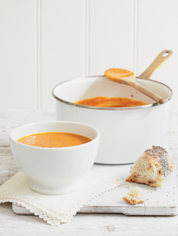 Mary Berry's Roasted Butternut Soup for Mother's Day