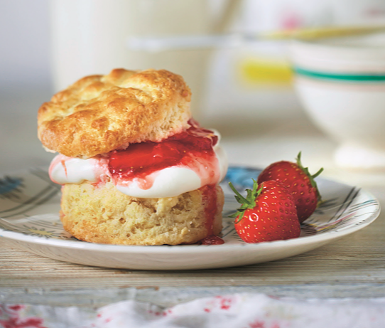 best summer strawberry bake