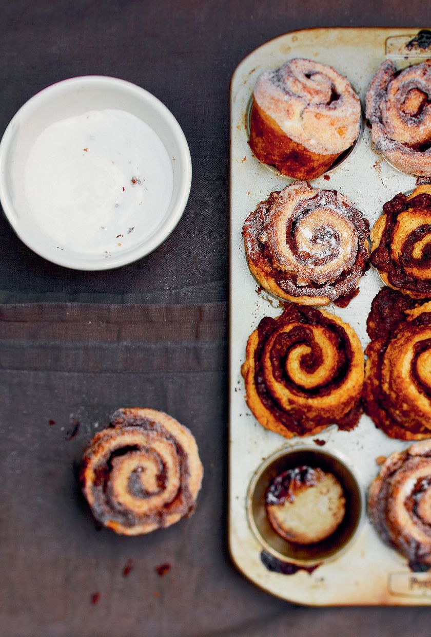 Cinnamon Buns for Sharing