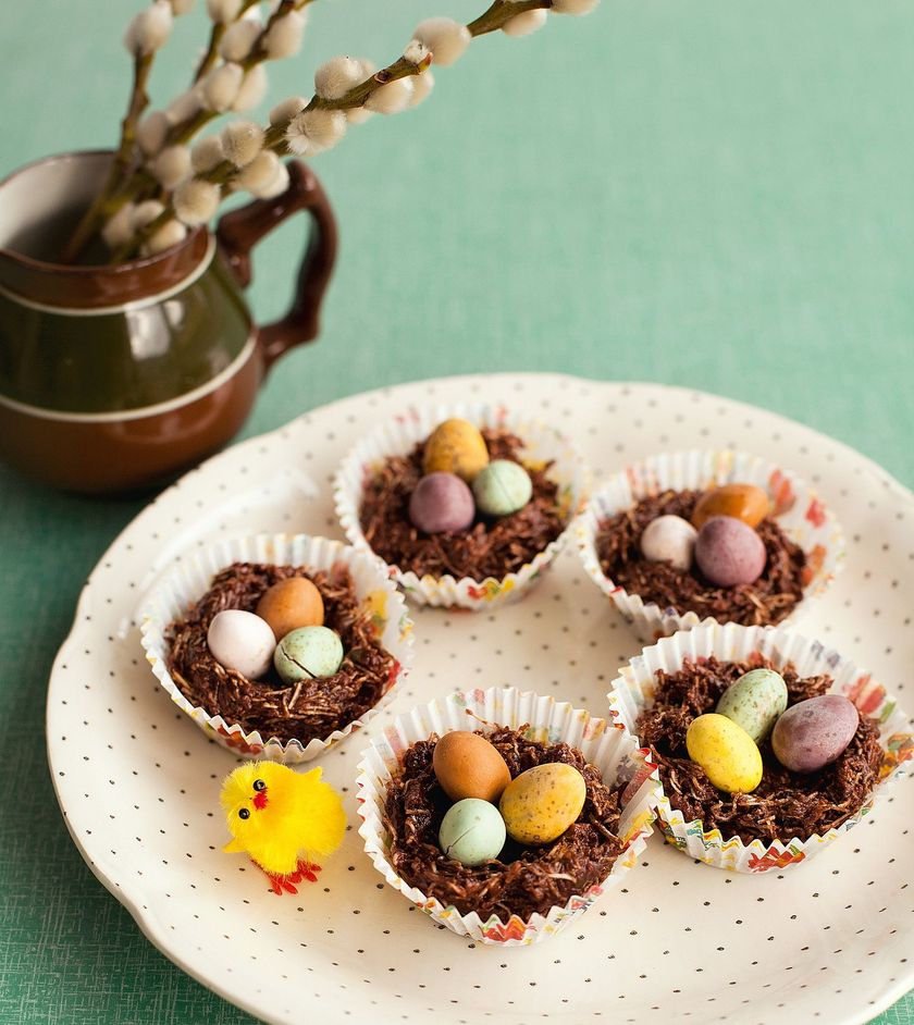 Best Easter Bakes Chocolate Nests