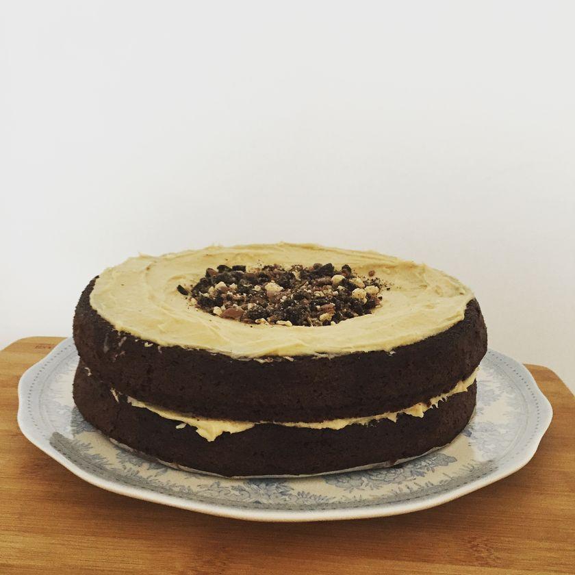 Chocolate Malt Cake felicity cloake
