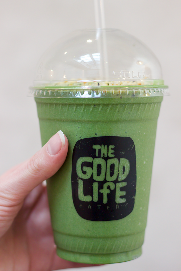 the good life eatery green smoothie