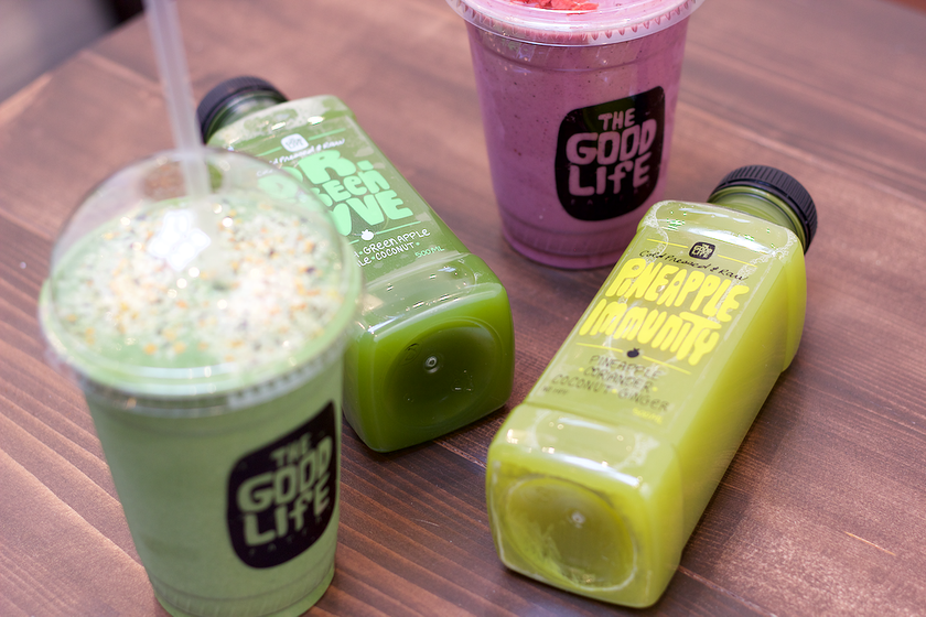 The good life eatery juices