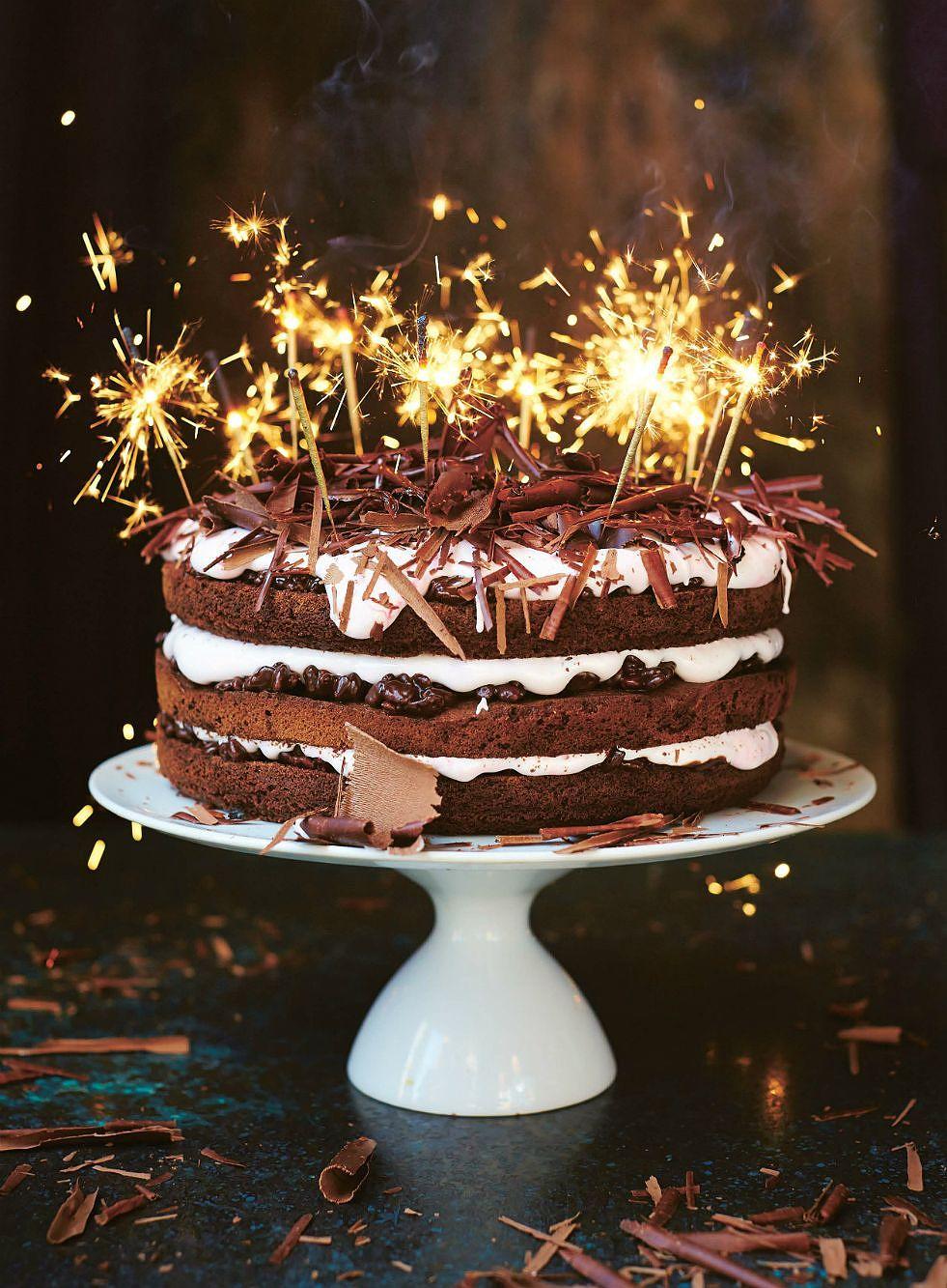 Chocolate And Strawberry Cake Jamie Oliver