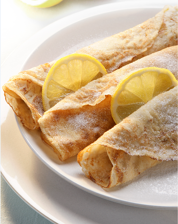 Lemon and Sugar Crepes The Happy Foodie