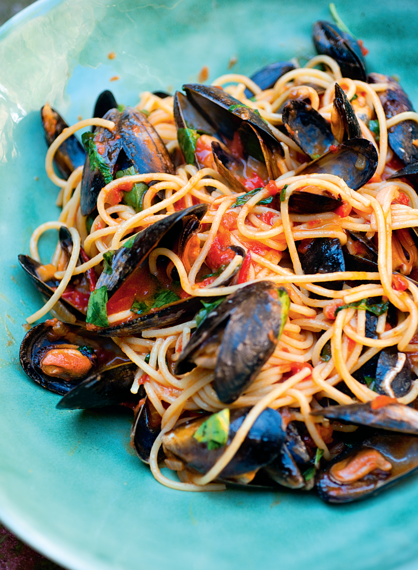 best pasta and mussels recipe