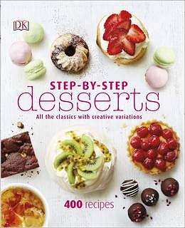 Step by Step Desserts DK Christmas Cookbook gift