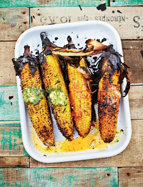 best barbecued sweetcorn recipe