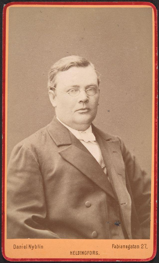 Karl Emil Ferdinand Ignatius. Kuva: Museovirasto / Daniel Nyblin.