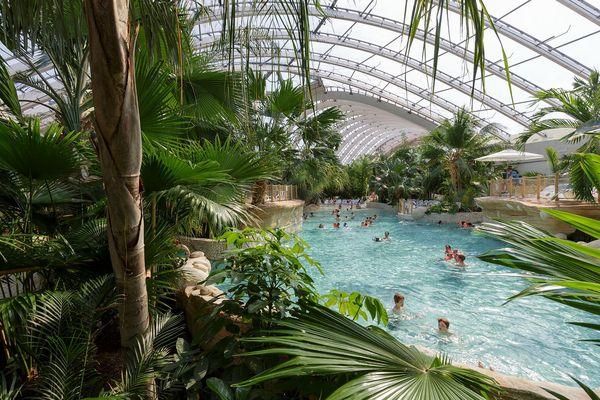 Im Laufe der Jahre ist das tropische Schwimmparadies Aqua Mundo zum Markenzeichen von Center Parcs geworden.