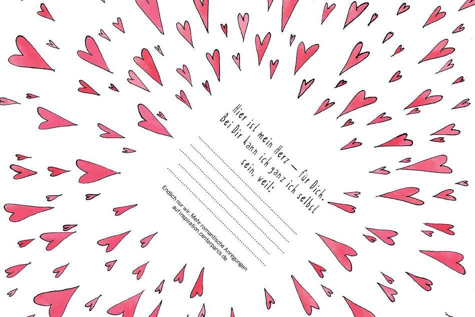Valentinsgeschenk zum Selberbasteln
