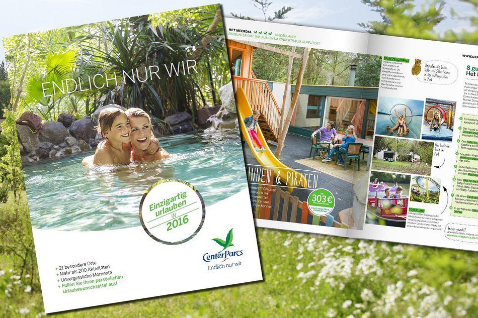 Der neue Center Parcs-Katalog 2016