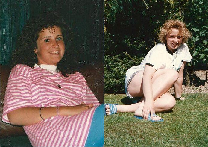 Sandra (links) und Nicole (rechts) lernten sich als Jugendliche während eines Urlaubs in De Kempervennen kennen