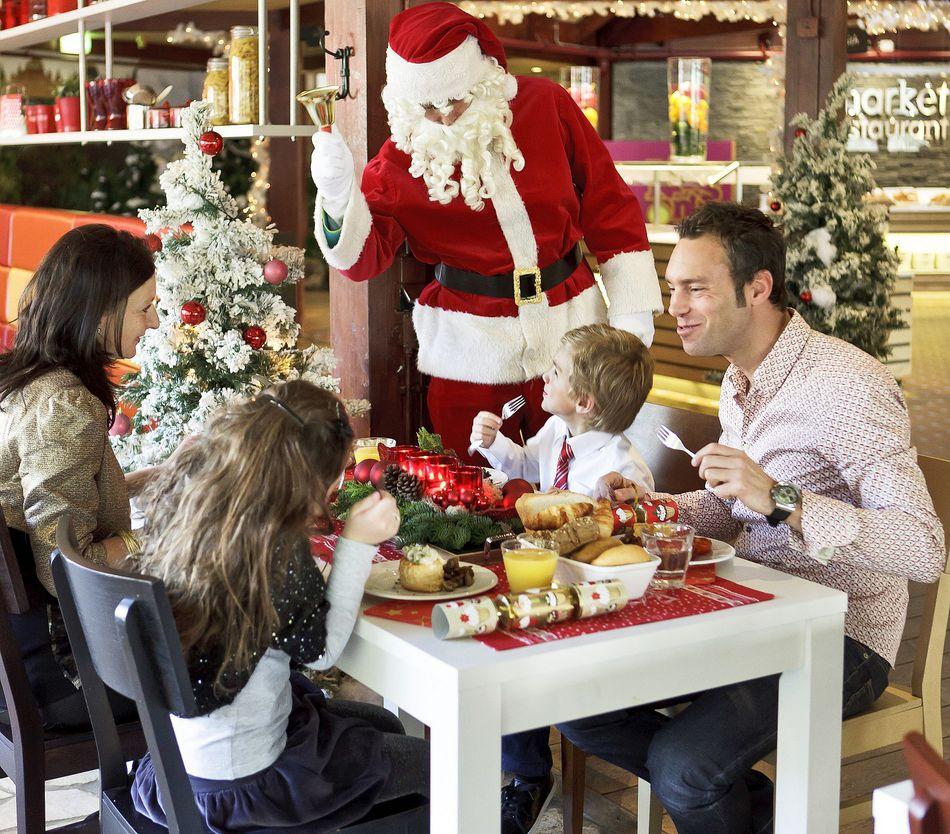 Lecker: Weihnachtsessen bei Center Parcs
