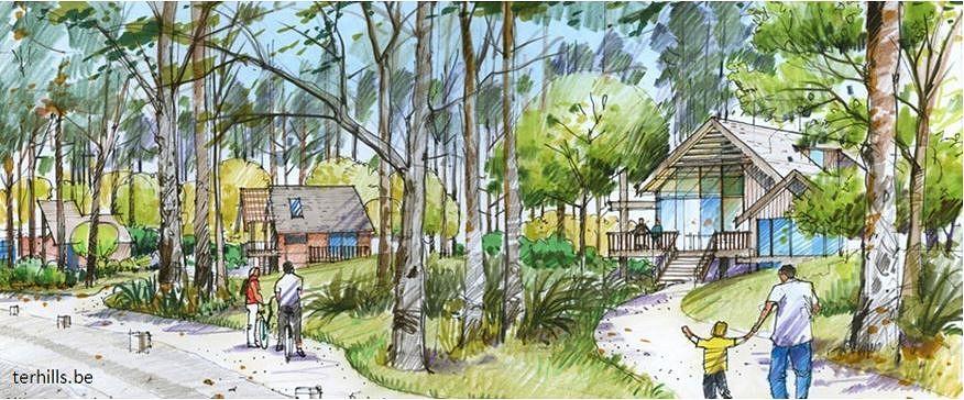 So soll der neue Ferienpark in Terhills einmal aussehen