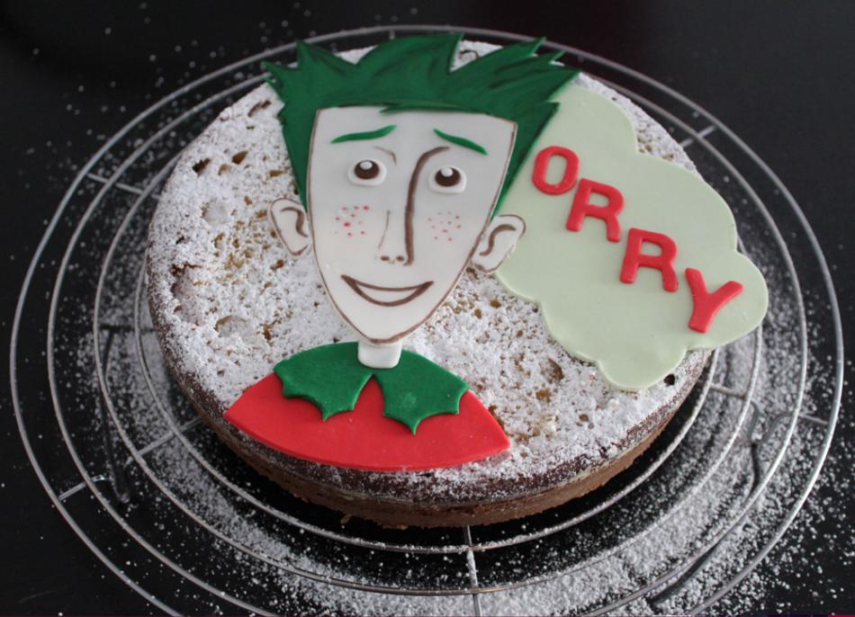 Lecker: die fertige Orry-Torte