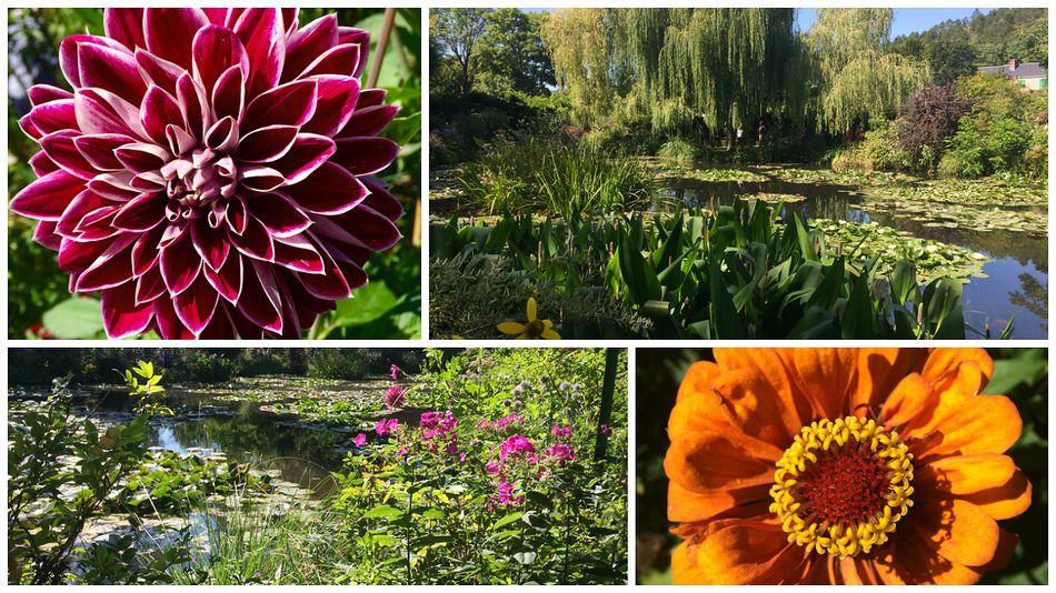 Ziel des Ausflugs: der Garten von Claude Monet