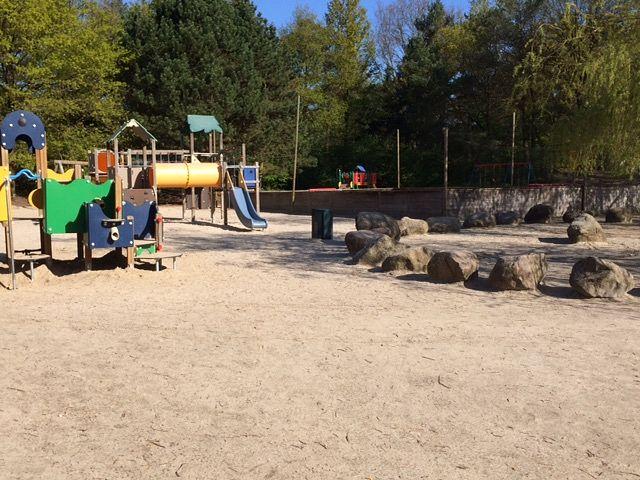 Picknickplatz Center Parcs Erperheide: beim Kinderspielplatz