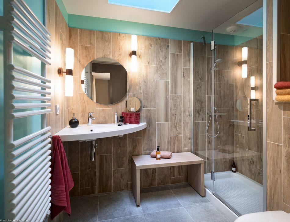 Badezimmer Eden-Premium-Ferienhaus
