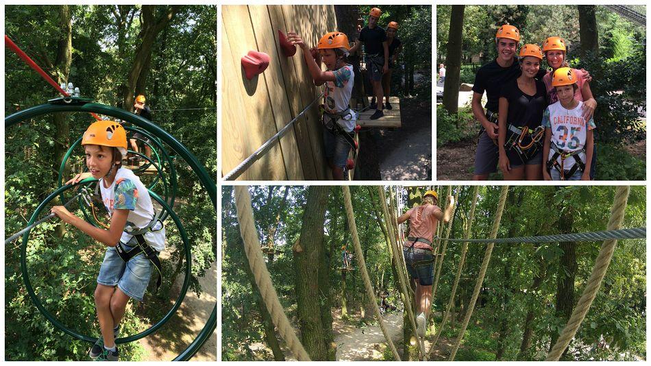 Der neue Hochseilgarten High Adventure Experience in Het Heijderbos