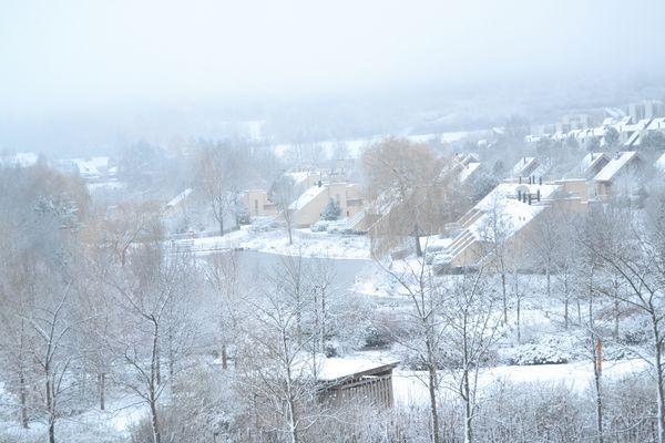 Schnee in Park Hochsauerland