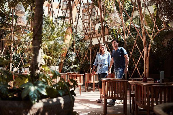 Tropisches Flair im renovierten Parc Sandur