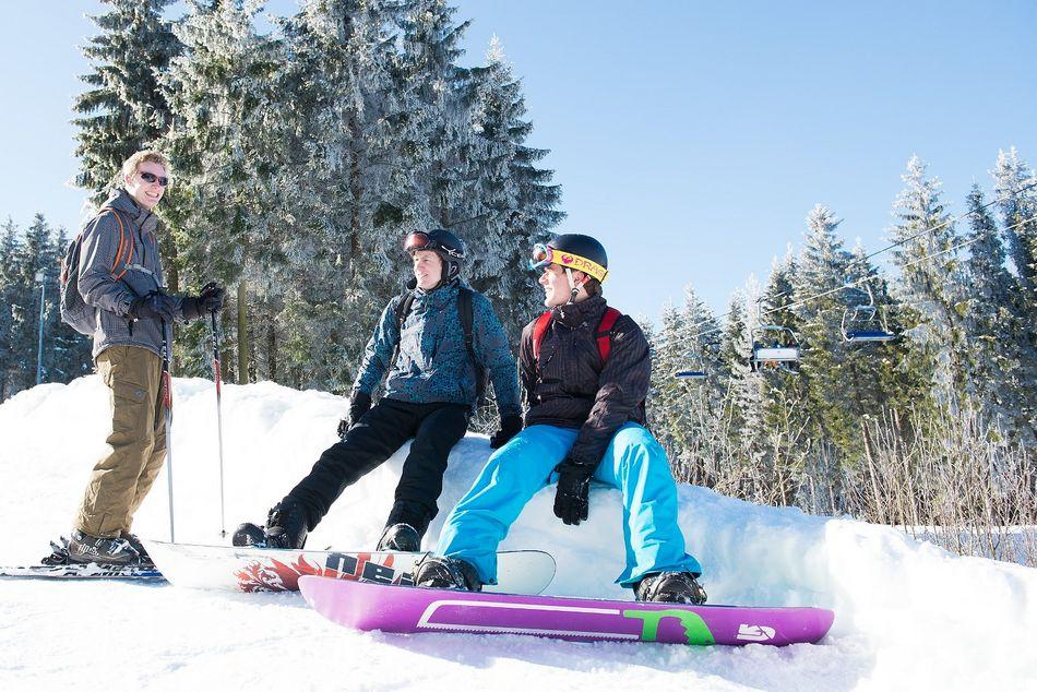 Ski und Snowboard fahren im Sauerland