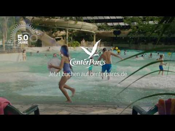 Neuer Center Parcs-TV-Spot 2017