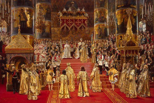 Wilhelm Lagus osallistui yliopiston rehtorina Aleksanteri III:n kruunajaisiin. Kuva: G. Becker (1888) / Wikimedia Commons.