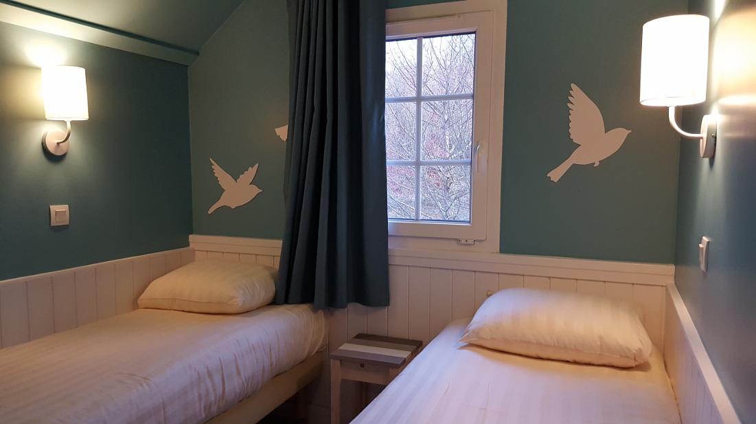 Un nouveau design pour les cottages du lac d 39 ailette for Chambre design vip
