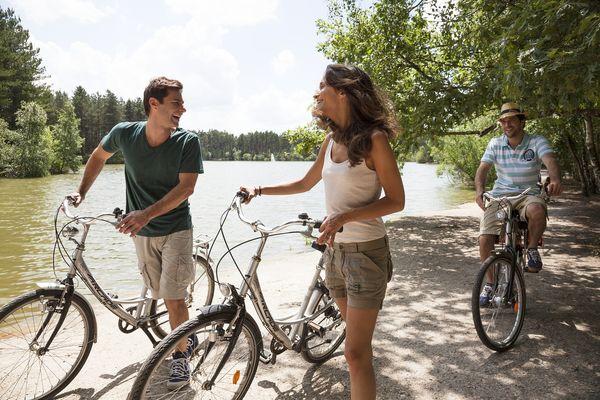 Les meilleures randonnées à vélo à proximité de Center Parcs
