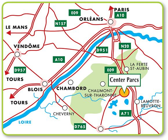 situer center parc sur la carte de france my blog. Black Bedroom Furniture Sets. Home Design Ideas
