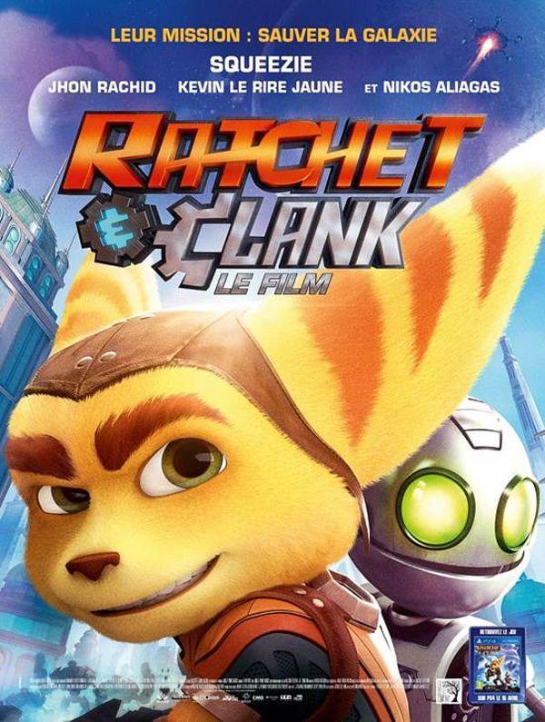 Avant-première du jeu - Animation Ratchet & Clank