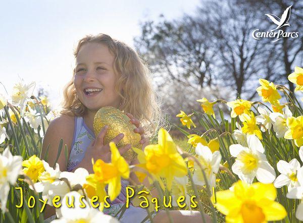 Center Parcs vous souhaite de joyeuses fêtes de Pâques !