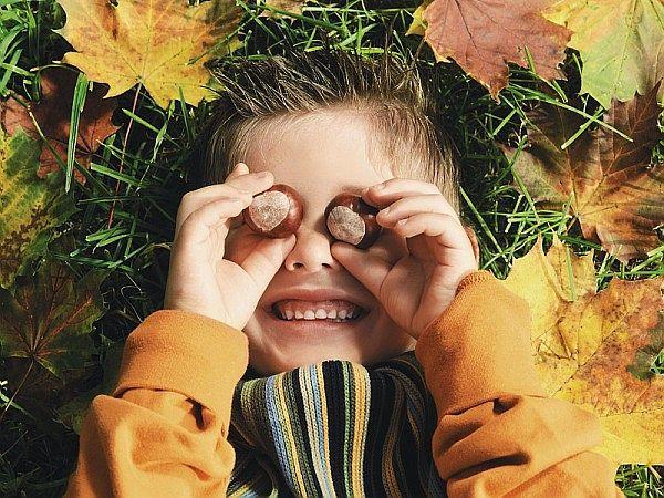 Loisirs créatifs d'automne avec les enfants