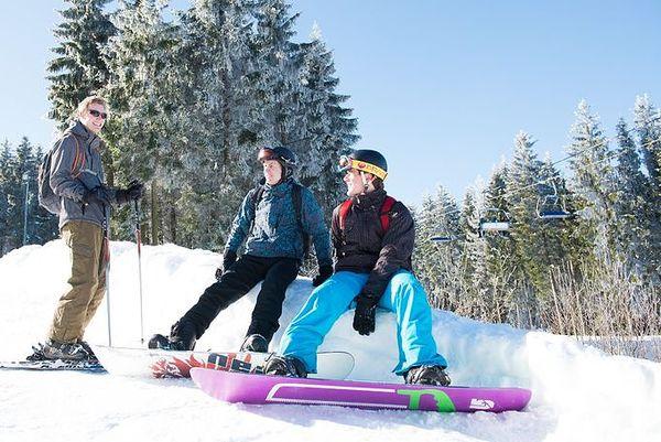 Les sports d'hiver chez Center Parcs