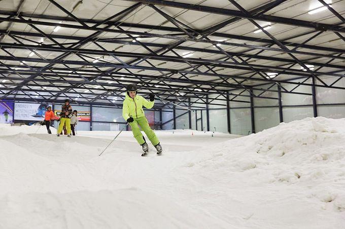Les sports d 39 hiver chez center parcs for Interieur bobsleigh